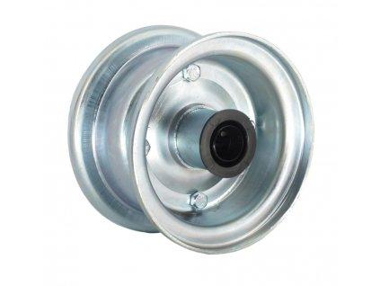 """Disk 4"""", kovový dělený, válečkové ložisko délka 75 mm"""
