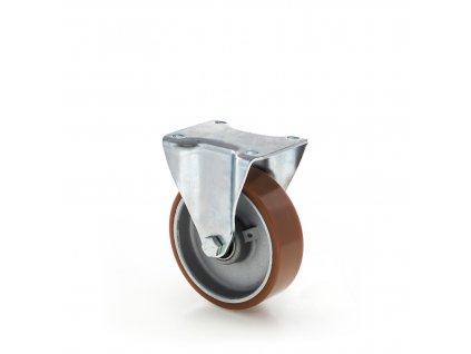 Kolečko s polyuretanovým běhounem 100 mm, pevné