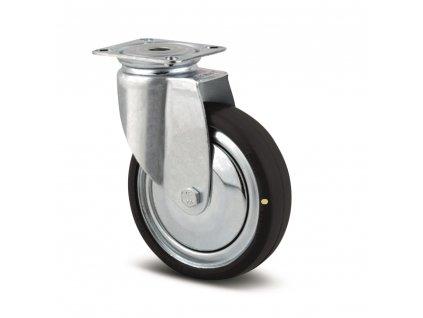 Antistatické kolečko 75 mm,otočné