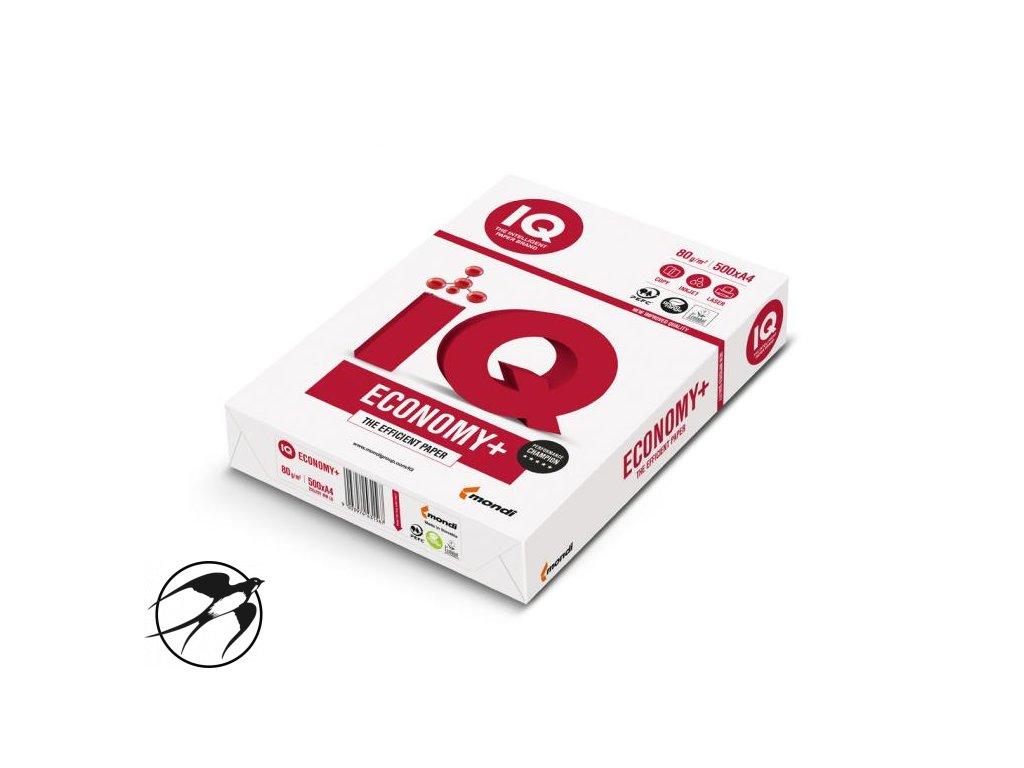 Kopírovací papier IQ economy + A4, 80g