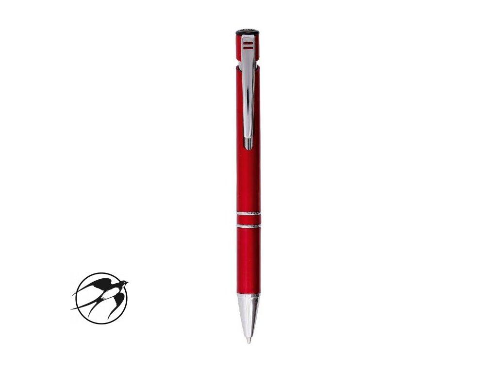 Guľôčkové pero HZ 8862 červené