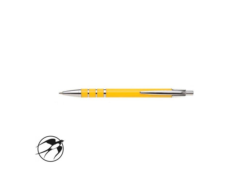 Guľôčkové pero HZ 9225 B žlté