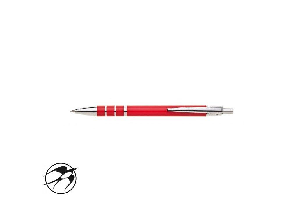 Guľôčkové pero HZ 9225 B červené