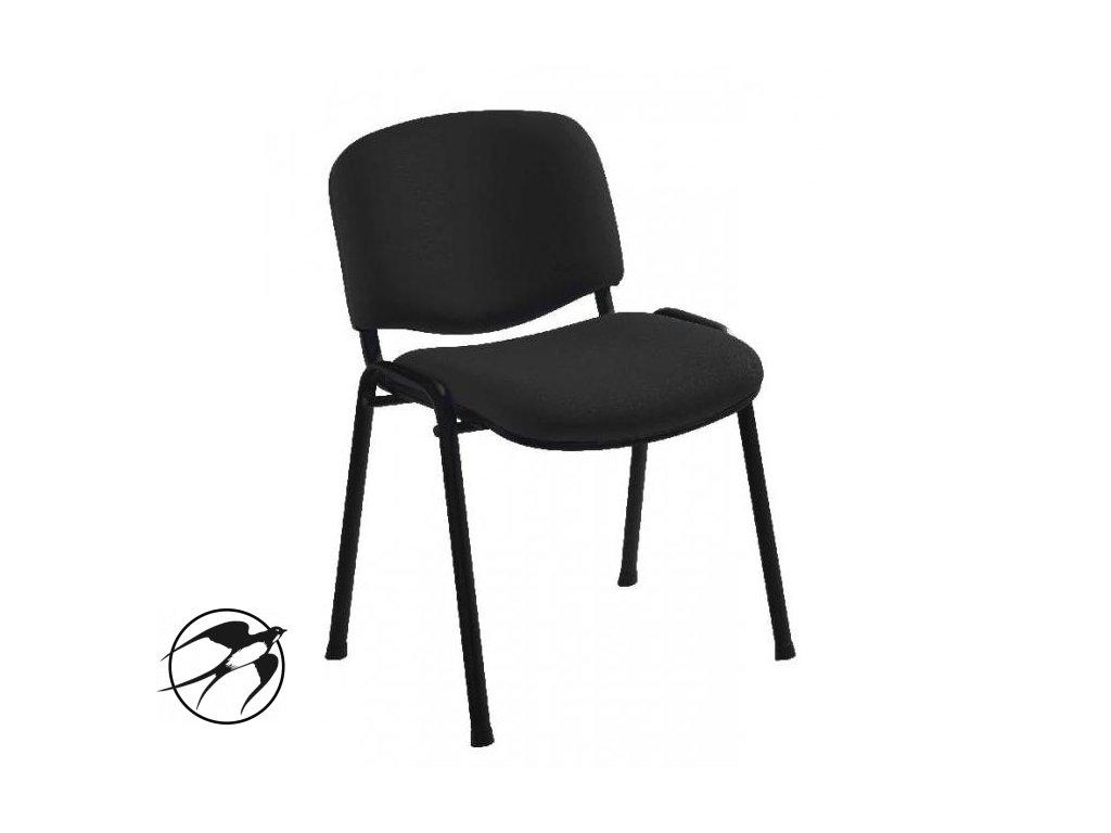 Rokovacia stolička Taurus TN čierna C11 - kostra čierna