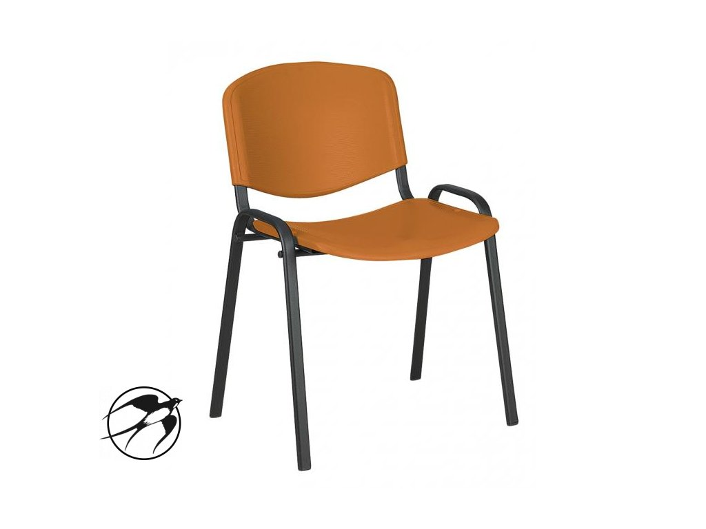 Rokovacia stolička Taurus PN ISO oranžová P15