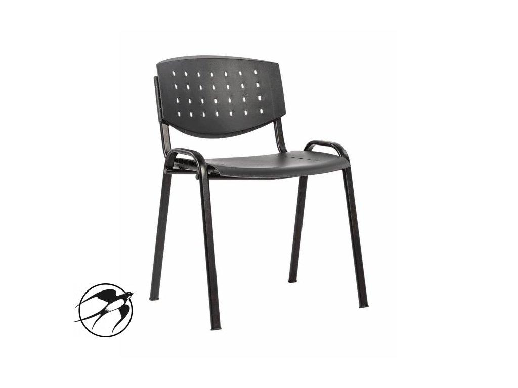 Rokovacia stolička Taurus PN LAYER antracitová P29