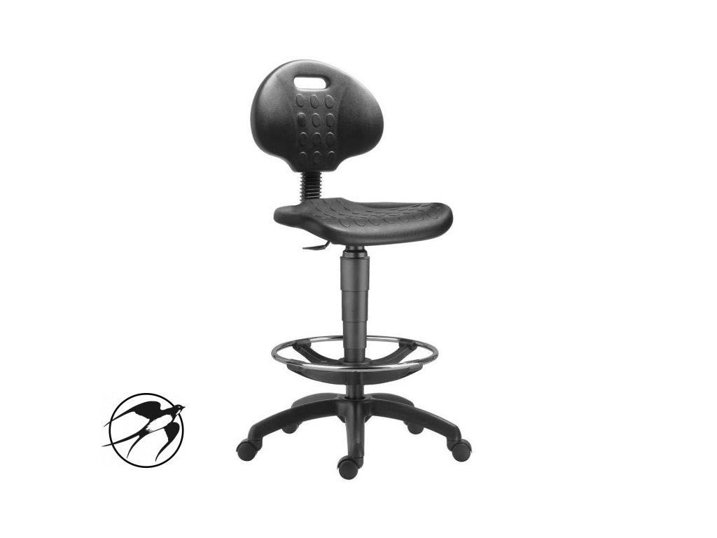 Pracovná stolička 1290 NOR s kruhom