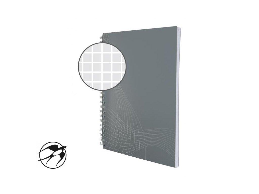 Blok Notizio A5 80 listov štvorčekový