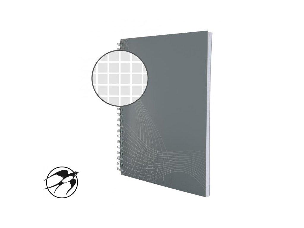 Blok Notizio A4 80 listov štvorčekový