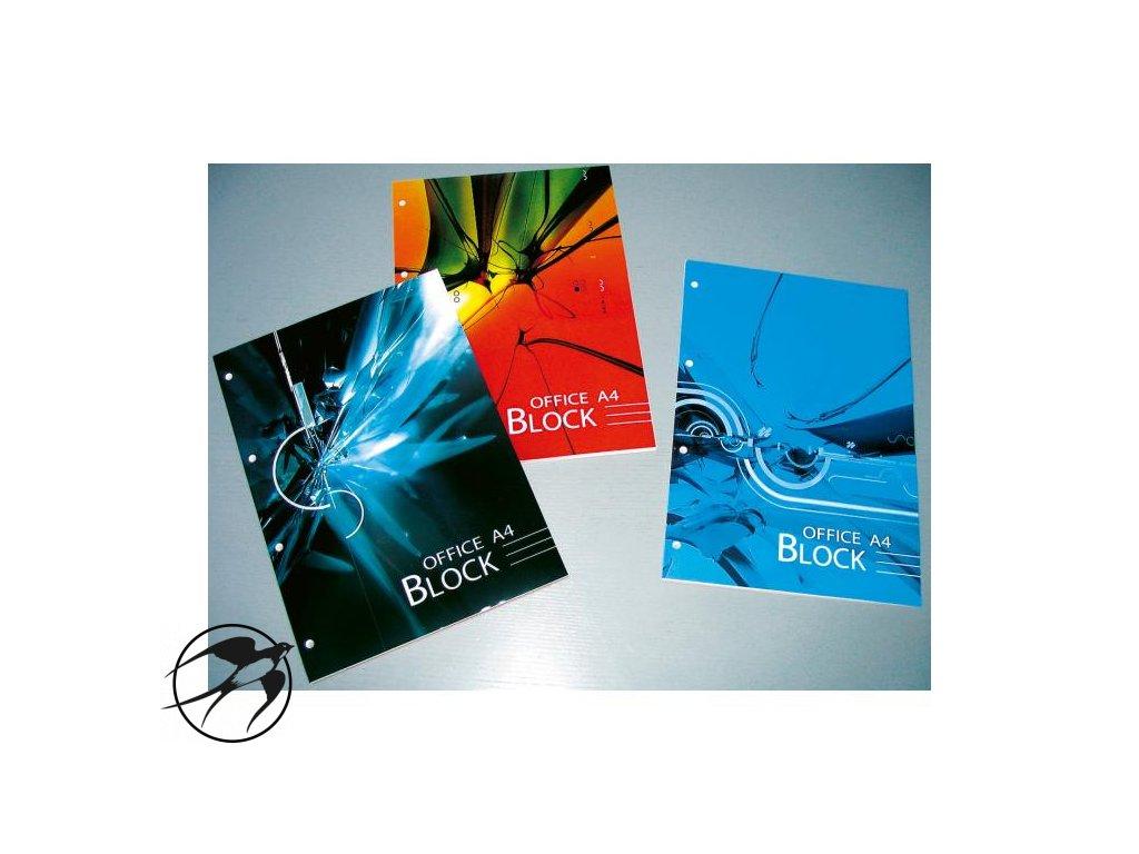 Blok poznámkový Krpa Office A4 70 listov linajkový
