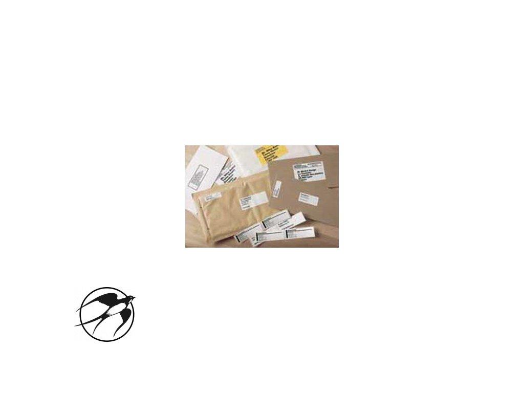 Samolepiace etikety Brother QL 17x54 mm multifunkčné biele