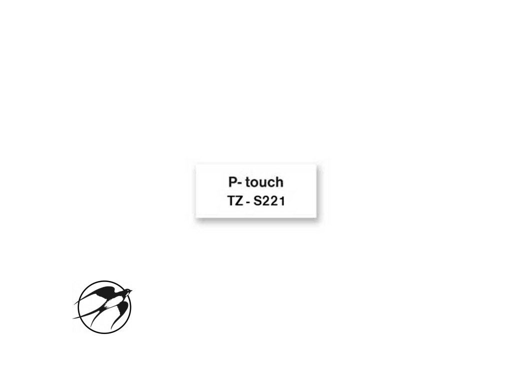Samolepiaca páska Brother TZe-S221 9mm biela/čierna
