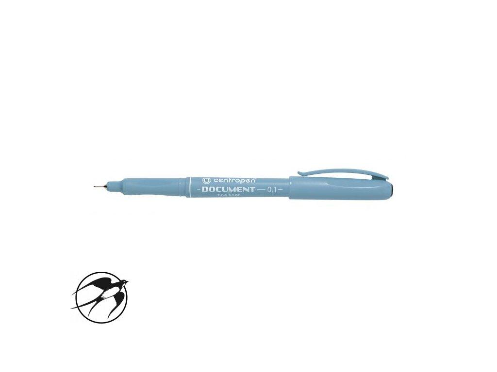Liner Centropen 2631 0,1mm čierny