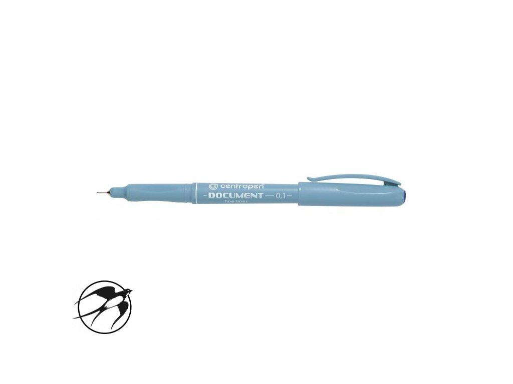 Liner Centropen 2631 Graphic 0,1m modrý