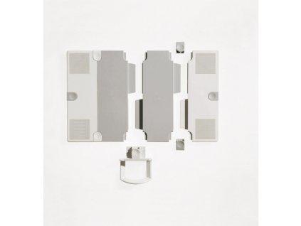Stredové vložky na rozšírenie podložky nosiča telefónu sivé