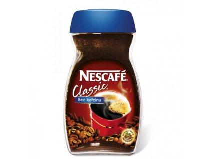 Káva NESCAFÉ CLASSIC bez kofeínu instantná 100g