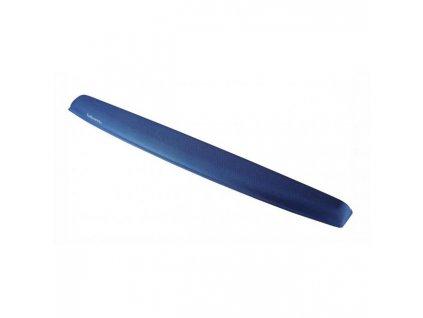 Opierka pred klávesnicu z pamäťovej peny zafírová