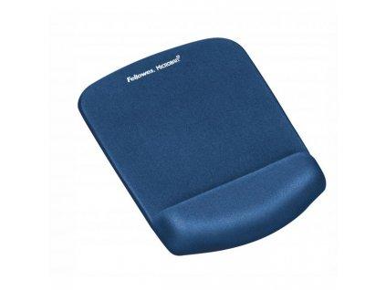 Podložka pod myš s opierkou PlushTouch modrá