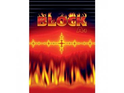 Blok A4 50 listov linajkový