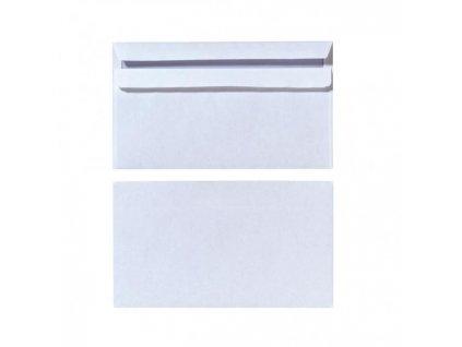 Poštové obálky DL Herlitz samolepiace s vnútornou potlačou, biele, 25 ks