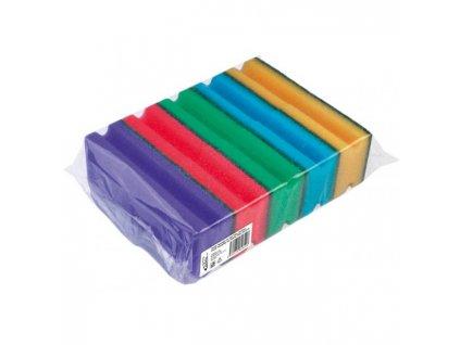 Hubka na riad tvarovaná farebná 10 ks