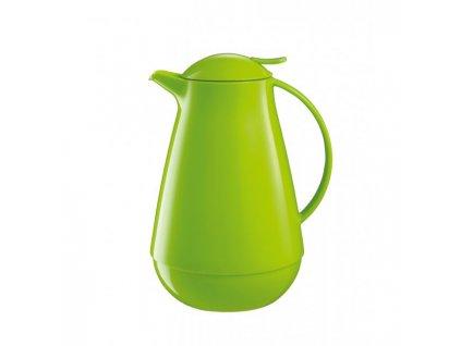 Termoska plastová FAMILY COLORI 1l zelená