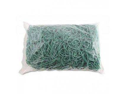 Gumičky Office Products 60mm 1kg zelené