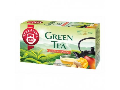 Čaj TEEKANNE zelený Ginger & Mango 35g