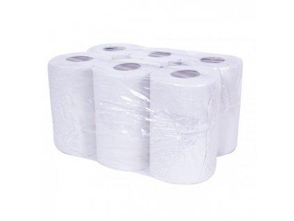 Papierové uteráky v rolke 2-vrstvové KATRIN/NL Classic Roll S biele 6ks