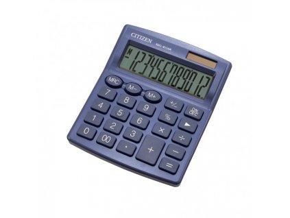 Kalkulačka Citizen SDC-812NRNVE modrá