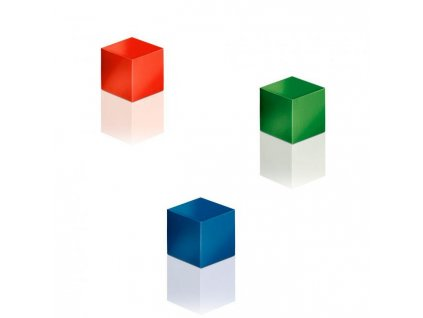 Magnety Sigel na sklenené tabule, kocka farebné 3 ks
