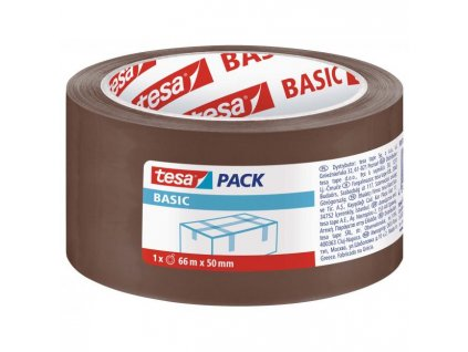 Baliaca páska TESA basic 50mmx66m hnedá