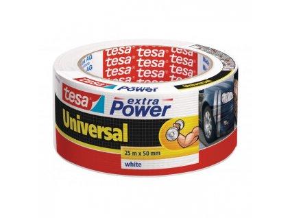 Textilná páska TESA silne lepiaca biela 50mmx25m