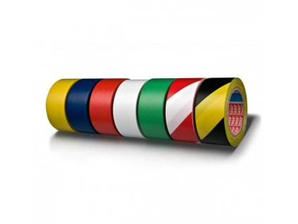 Vyznačovacia páska lepiaca TESA 50mm x 33m červená