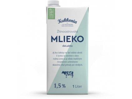 Trvanlivé mlieko Žitnoostrovské Kukkonia bezlaktózové 1l