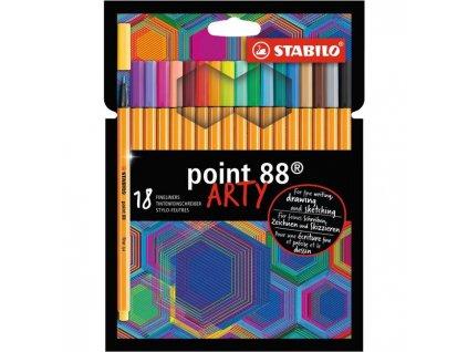 "Sada linerov STABILO point 88/18S ""ARTY"""