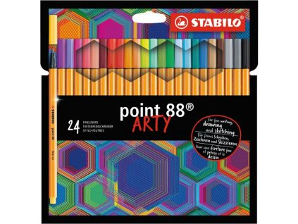 Sada linerov STABILO point 88/24S `ARTY`