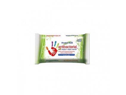 Antibakteriálne vlhčené utierky na ruky Fresh´n Soft 15 ks