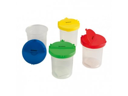 Plastový pohárik Donau na vodu mix farieb