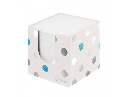 Blok kocka nelepená Herlitz Frozen Glam 90x90x90mm kartónová krabička