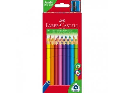 Farbičky Faber Castell Junior grip 20ks