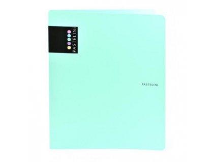 Zakladač 4-krúžkový Karton PP Pastelini PP zelený