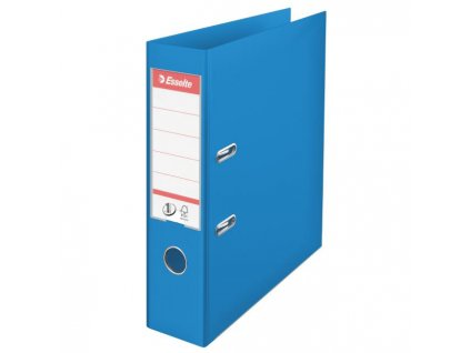 Zakladač pákový Esselte No.1 celoplastový 7,5cm VIVIDA modrý