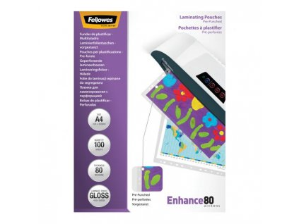 Laminovacie fólie Fellowes Filex A4 80 mic. 228x303 mm