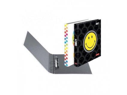 Zakladač 2-krúžkový lamino A4 4cm Smiley World mix motívov