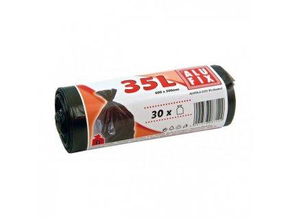 Vrecia 35l,10mic., 500x600mm 30ks čierne