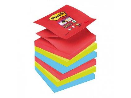 Z-bločky Post-it Super Sticky `Bora Bora` 76x76mm, 6 bločkov po 90 lístkov