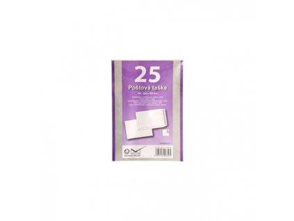 Poštové obálky B4 s páskou, biele, 25 ks 90g