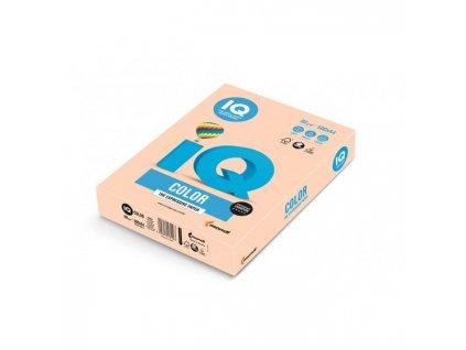 Farebný papier IQ color lososová pastelová SA24, A4 80g