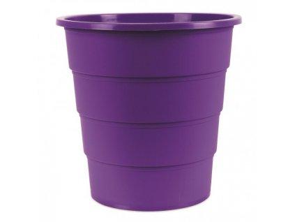 Kôš Office Products plastový 16l fialový
